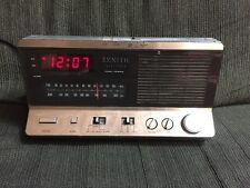 Vintage Zenith Electronic Clock Radio Model R462