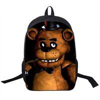 Five Nights At Freddy Backpack Children Travel Bag School Bag Teenage