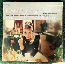 "Breakfast at Tiffany's RCA Victor 12"" LP 1961 Henry Mancini LPM-2362 Film Score"