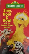 Barrio Sésamo Cantar,Hoot & Howl (VHS 1991) Tested-Rare Vintage Collectible-Ship