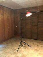 Vintage Smith Victor Industrial Tripod Floor Lamp Retro Studio Light MCM Style