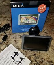 Garmin Nuvi 200W- navigation for vehicle