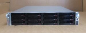 "Supermicro SuperChassis CSE-826 2 8-Core XEON E5-2690 2.9GHz 192G 12x3.5"" Server"
