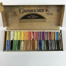 Vtg Grumbacher 29 Soft Pastels 00/C Half-Length - Art, Crafts, drawing FREE SHIP
