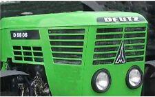 Deutz D6806 Aufkleber Label Sticker Motorhaube.