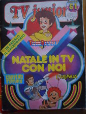 TV Junior n°51 1981 ed. RAI - Capitan Futuro Ape Maia   [g.135]