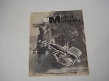 advertising Pubblicità 1970 MOTORI MINARELLI  50 RC