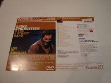 BRUCE SPRINGSTEEN LIVE BARCELONA!!RARE FRENCH PRESS/KIT