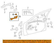 TOYOTA OEM 12-17 Camry Front Door-Handle Base Right 6920106120