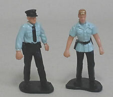 SECURITY PERSONNEL FIGURES x 2 for Scalextric Airfix Ninco SCX Fly & More 1.32