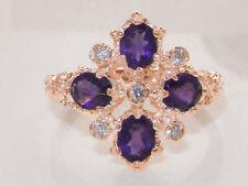9 Carat Rose Gold Amethyst Fine Jewellery