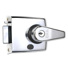 Era 193-37-1 interbloqueos Nightlatch Puerta Cerradura 60mm/Cromo Pulido