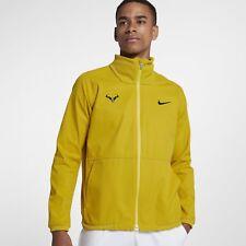 Nike Court Rafa Men's Tennis Jacket. Large. Bright Citron. 887551 Rafael Nadal