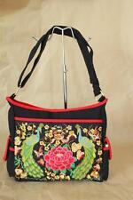 Genuine Embroidered Vintage Tribal BOHO handbag, shoulder office computer bag