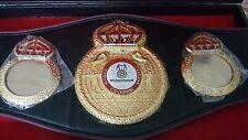 WBA Boxing Champion Ship Belt .Adult size with case