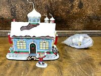 Hawthorne Village Christmas Town Lighted Sealed with HERSHEY KISSES SHOP