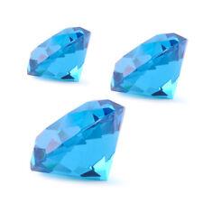 Blau Kristall Glas Diamant Kristallglas Glasdiamant Hochzeit Feng Shui Deko