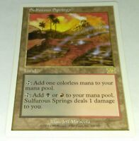MTG Magic the Gathering : Sulfurous Springs - 6th Edition LP