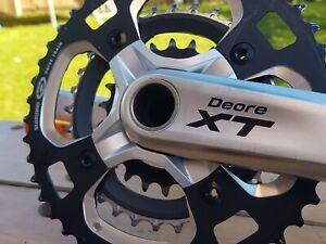 Shimano Deore XT M770 Triple Chainset FC-M770 VGC