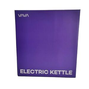 VAVA Electric Kettle 1.7L Glass Tea Kettle Fast Boiling Cordless Water Kettle