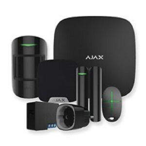 AJAX Alarm System Smart Home Kit 1, Hub, sensors, siren, remote, relay, socket