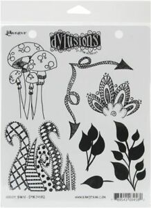 Ranger Ink Dylusions Stamps Cling Mounted Rubber Stamps Doodle Parts