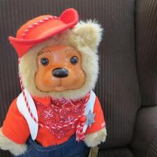 RAIKES BEAR 1989 JESSE COWBOY BEAR ~ SATURDAY MATINEE ~ ORIG BOX ~COA QQ7319