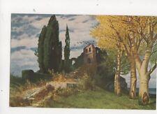 Ruedisuehli Verlassene Staette Vintage Art Postcard 259b