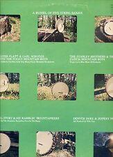 A BUSHEL OF FIVE STRING BANJOS lester flatt e.a. US EX LP  BLUEGRASS