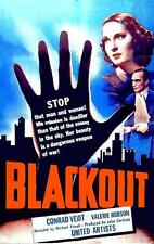CONTRABAND (BLACKOUT) (1940)