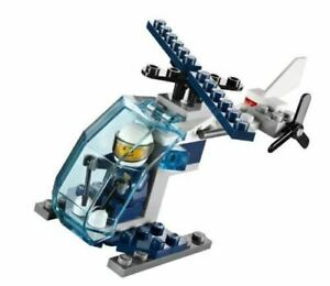 LEGO City: Police Helicopter Polybag Set 30222 (Bagged)