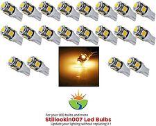 20 - Low Voltage Landscape T5 LED bulbs WARM WHITE 5LED's per bulb