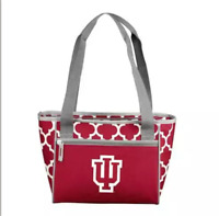 Indiana Hoosiers Medium Insulated Cooler Sport Team 16 Can Lunch Bag Pocket