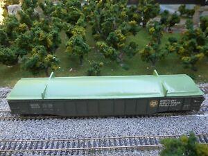 HO Scale  British Columbia Railway   Gondola  Cover