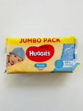 Huggies Pure Baby Wipes Jumbo Pack