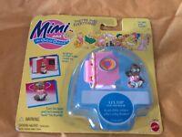 Vtg NEW Mimi and Goo Goos Li'l Dip Figurine Mattel 1995 Toy Doll Miniature Black