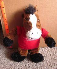 FLYING E DUDE RANCH beat-up plush Wickenburg horse doll Arizona toy w/ shirt OG