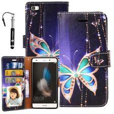Étuis, housses et coques bleus graphiques pour téléphone mobile et assistant personnel (PDA) Huawei