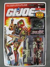 MOC 1990 GI Joe Cobra Mountain Trooper Rock-Viper v1 Factory Sealed Figure NR