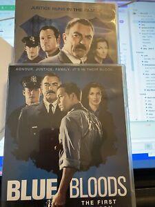 Blue Bloods Season 1-2 DVD EB1 12-disks of understated Tom Selleck's cop drama
