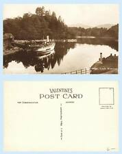 SS Sir Walter Scott Pier Loch Katrine Scotland UK RPPC Real Photo Postcard Ship