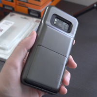 Galaxy S8 / S8 Plus VRS Design Damda Folder Credit Card Wallet ID Slot Case