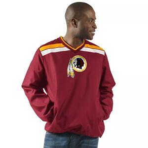 Washington Redskins NFL Progression V-Neck P.O. XL/G-III/Maroon/NWT/Retired Logo