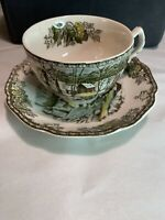 Vintage Johnson Brothers tea cup And Saucer