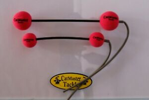 CatMaster Tackle Leech & Worm Dumbells (Pink)