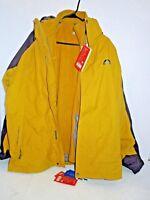 Warm Hiking Ski Camping Water,Windproof Fleece Liner Winter Coat Jacket Med