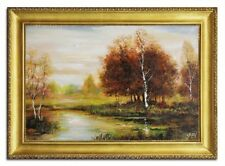 Originale künstlerische Malereien mit Landschaften & Städten direkt vom Künstler