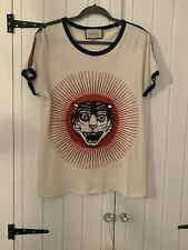 Authentic Mens Gucci Tiger T-shirt Size M