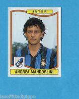 PANINI CALCIATORI 1990/91-Figurina n.151- MANDORLINI - INTER -Rec