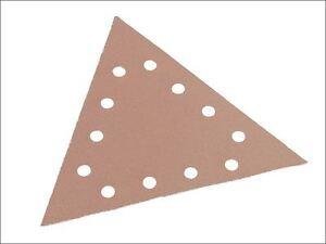 Flex Power Tools - Sanding Paper Hook & Loop Triangle 120 Grit Pack 25